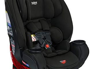 Britax One4life ClickTight All In One Car Seat a 10 Years of Use a Infant  Convertible  Booster a 5 to 120 Pounds   SafeWash Fabric  Eclipse Black