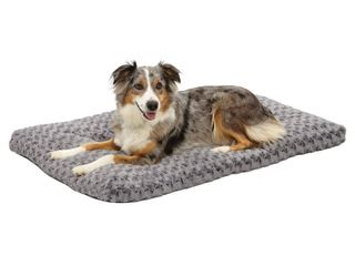 Midwest Quiet Time Pet Bed Deluxe Gray Ombre Swirl 40 x 27