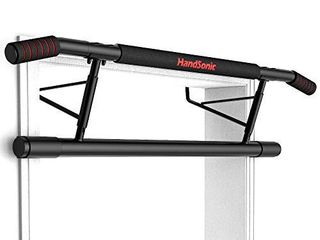 HANDSONIC Pull Up Bar Doorway  Chin up Bar no Screws  Heavy Duty Trainer for Home no Need to Installation and Disassembly