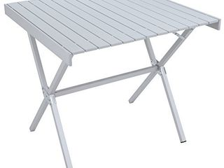 AlPS Mountaineering Dining Table Square  Silver  8350911