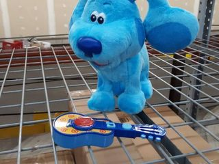 Nickelodeon Toy Dog and Guitar