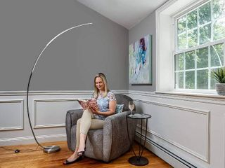 daylight24 402097 15 Arc lED Floor lamps  Silver