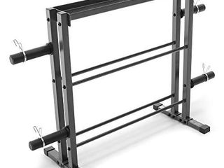 Marcy Combo Weights Storage Rack for Dumbbells  Kettlebells  and Weight Plates DBR 0117