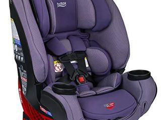 Britax One4life ClickTight All in One Car Seat a 10 Years of Use a Infant  Convertible  Booster a 5 to 120 Pounds   SafeWash Fabric  Plum
