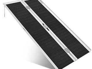ORFORD Non Skid Wheelchair Ramp 5FT  Utility Mobility Access Threshold Ramp for Home  Steps  Stairs  Doorways  Scooter
