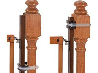 Summer Banister to Banister Universal Gate Mounting Kit a Fits Round or Square Banisters  Accommodates Most Hardware   Pressure Mount Baby Gates up to 37a Tall  Gate Sold Separately
