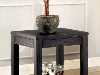 Furniture Of America Dill Rustic Black Table
