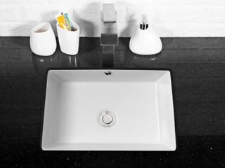 17x12 Inch Rectangle Undermount Vessel Sink