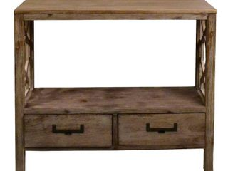 Madison 2 Drawer Console Table with Side Design Retail 121 49