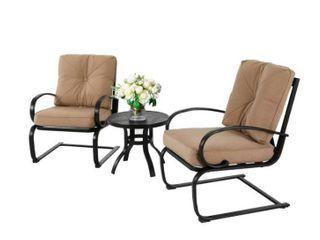 NUU Garden 2 Piece Outdoor Spring Chairs  Set of 2