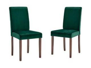 Copper Grove Pinskent Velvet Chairs  Set of 2