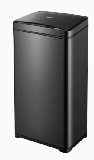 13 Gallon Automatic Stainless Steel Trash Can with Touchless Motion Sensor  Retail 78 48
