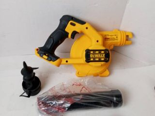 DEWAlT compact jobsite blower tool only 20V lithium ion