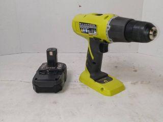 Ryobi 18V Starter Drill Kit