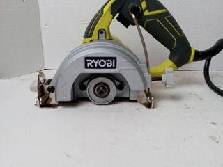 Ryobi 4  Hand Held Tile Saw 12 AMP Motor