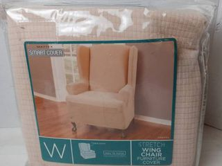 Maytex smart cover stretch Wing chair furniture cover 42 H x 33 l x 31 W