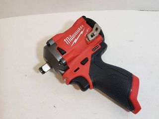 Milwaukee M12 1 2 inch stubby impact wrench  model   2555   20 Battery and charger not included
