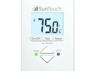 SunTouch Floor Warming SunStat Core Non Programmable Floor Heating Thermostat