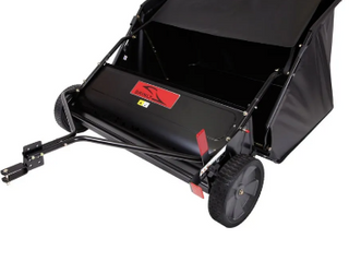 Brinly STS 42lXH 20 Cubic Feet Tow Behind lawn Sweeper  42 Inch