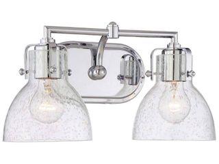 Chrome Bathroom Vanity light Minka lavery 5722 77