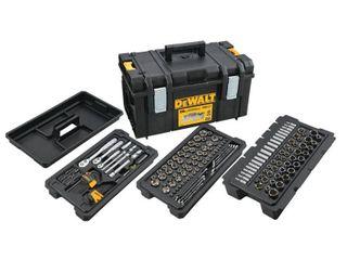 DEWAlT Mechanics Tool Set  226 Piece  with TOUGHSYSTEM 22 in  Medium Tool Box