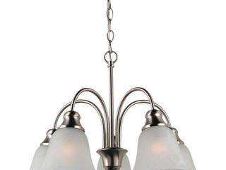 Sea Gull Windgate SG 35950BlE 962 5 light Downlight Chandelier  Fluorescent