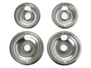 Drip Pans for Electric Ranges  4 Pack