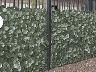 Green  AlEKO 94 X39  Privacy Artificial Fence Screen Hedge Wall Set of 4