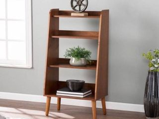 Carson Carrington Barrencroft Mid century Modern Wood Bookcase