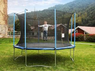 Airbound 10 ft Round Trampoline with Safety Enclosure