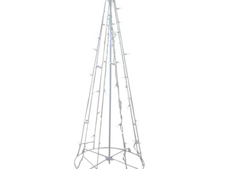 Clear Cool lED Show Cone Christmas Tree lighting Display