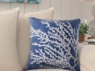 Beaconsdale Coral Throw Pillow