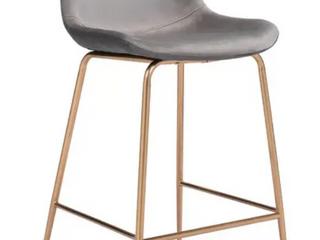 Tony Counter Chair   Grey