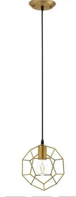 Estevez 1 light Single Geometric Pendant