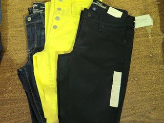 lot of 3 size 2 womens jeans