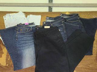 lot of 5 Size 14 Pants Womens