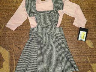 Girls Size 18m Dress and Shirt