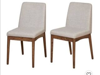 Element Dining Chair  Set Of 2    Walnut