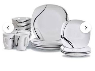 Meigs 16 Piece Dinnerware Set  Service for 4
