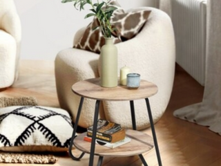 Back Earline End Table with Storage