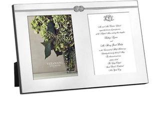 Vera Wang WedgwoodAr Vera Infinity Double Invitation Frame