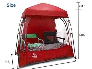 EasyGoProducts CoverU Sports Shelter aWeather Tent Pod aPatented