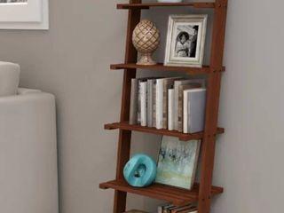 Wabansia ladder Bookcase  Walnut