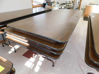 4 Folding wood tables 1 jpg
