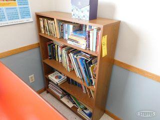 Bookshelf w books 1 jpg
