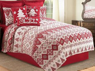 Kristoff Quilt Set  Red  King