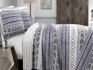 lush Decor Hygge Geo 3 Piece Quilt Retail 101 99