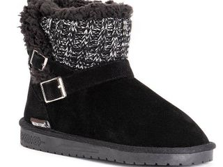 Muk luks Women s Alyx Cold Weather Cozy Booties Women s Shoes