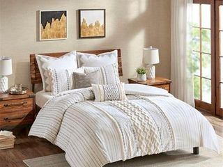 Ink Ivy Imani 3 Pc  King California King Cotton Comforter Mini Set Bedding