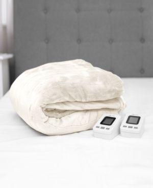 Queen   Ivory Sensorpedic Warming Blanket Retail 116 49